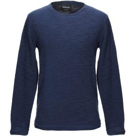 《送料無料》ANERKJENDT メンズ スウェットシャツ ブルー S コットン 88% / ポリエステル 12%