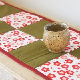 HARU YO KOI 和のテーブルランナー