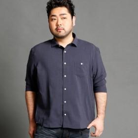 [マルイ]【セール】<大きいサイズ>7分袖シャツ/ハイダウェイ(大きいサイズ)(HIDEAWAYS)