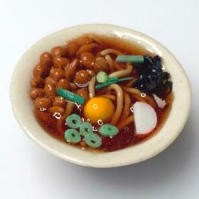 納豆そば(温)のマグネット