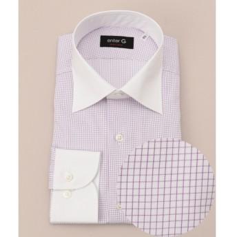 [マルイ] 【日本製】クレリックグラフチェックシャツ/オンワード ジェイ ブリッジ(ONWARD J BRIDGE)
