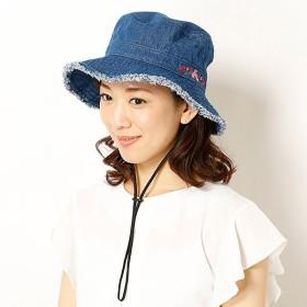 [マルイ] 【サイズ調整機能・UV対策】フラワー刺繍フリンジブーニー(レディース/雑貨/帽子)/ミーア(帽子)(MiiA)