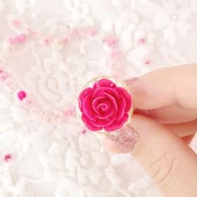再販2 Rose Collar Ring *