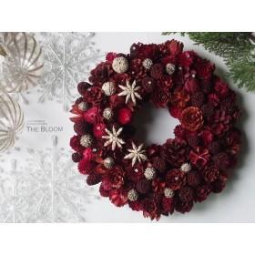 2015 Christmas wreath -X'mas Red-