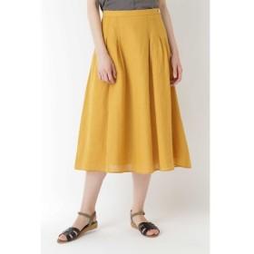 HUMAN WOMAN / 綿麻チェックスカート
