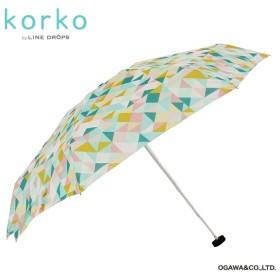 [マルイ] 雨傘【korko(コルコ)】(手開き折りたたみ傘/コンパクト/軽量/約170g/ラクラクオープン)/korko(コルコ)