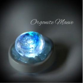 オルゴナイトの鉱石ランプ【海の石】