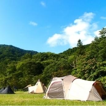 テントサイト キャンプ1泊宿泊券(1張 5名様まで)
