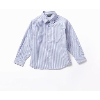 [マルイ] 【洗える】イージーケア ロンドンストライプ 長袖シャツ(100-130cmサイズ)/コムサイズムキッズ(COMME CA ISM)