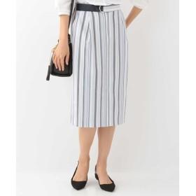 [マルイ]【セール】【洗える】ランダムストライプタイトスカート/オフオン(OFUON)