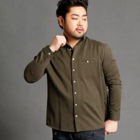 [マルイ]【セール】<大きいサイズ>イタリアンカラーシャツ/ハイダウェイ(大きいサイズ)(HIDEAWAYS)