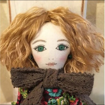 La Fille Porte Bonheur 女の子のドール エリジアン
