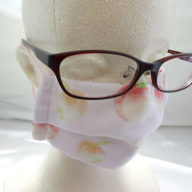 眼鏡が曇りにくいハンドメイド9834マスク大人用花 通販 Line