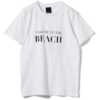 [マルイ]【セール】旅MUSE × BEAMS LIGHTS / BEACH Tシャツ/ビームス ライツ(レディース)(BEAMS LIGHTS)