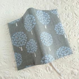 ≪再販≫【新書size】北欧風☆花咲くツリーのブックカバー