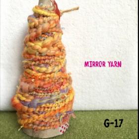 手紡ぎ糸アートヤーンG-17