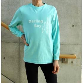 Darling Boy ロングスリーブTシャツ ミントグリーン