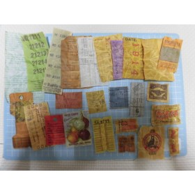 蝋引き紙物25枚セット