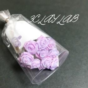 ☆送料無料☆愛を込めて花束を(ピンク、ブルー、パープル/マーブル)