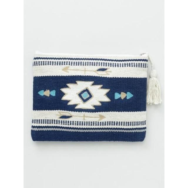 Kahiko カヒコ オルテガアロー刺繍クラッチバッグ