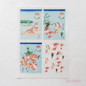 「金魚づくし」2 レジン封入用フィルム