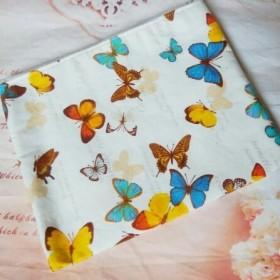 蝶々のポーチ*白*