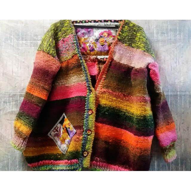 〔再販〕野呂栄作の毛糸のセーター☆マルチカラー