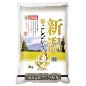 新潟県産コシヒカリ 5kg /御中元 夏の贈り物 プレゼントに/ギフト包装・のし(表書き、名入れ)無料