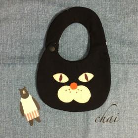 ★再販★黒ネコさんのふわふわスタ