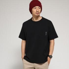 [マルイ] Tシャツ メンズ クルーネック ポケット 半袖Tシャツ/ベース ステーション(メンズ)(BASE STATION Mens)