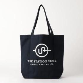 [マルイ] <ST> ロゴ トートバッグ L/ザステーションストア ユナイテッドアローズ(THE STATION STORE)