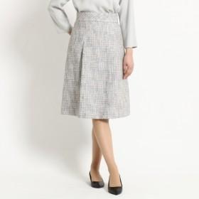 [マルイ]【セール】Lスカート(【WEB限定Lサイズあり】タックフレアーツイードスカート)/ドレステリア(レディス)(DRESSTERIOR Ladies)