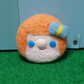 【送無】faceブローチ