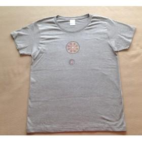 レディスL 世界にひとつだけ☆曼荼羅Tシャツ
