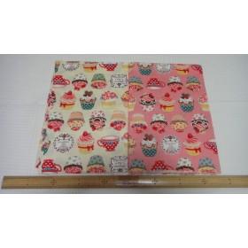 生地110×50 カップケーキセット2枚♪