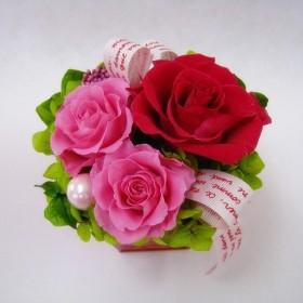 雑貨プリザ  petit fleurs  チェリー