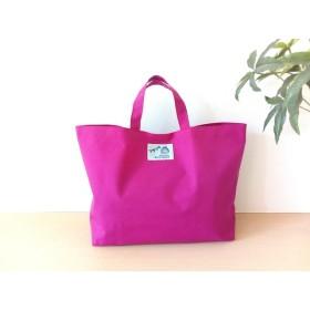 プチトートバッグ【送料無料】プールバッグ 園児 幼稚園 保育園 防水 シンプル ピンク 女の子 ナイロン