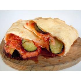 フライドピザ 茄子のマルゲリータ