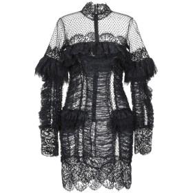 《期間限定セール中》AMEN COUTURE レディース ミニワンピース&ドレス ブラック 38 ナイロン 100%