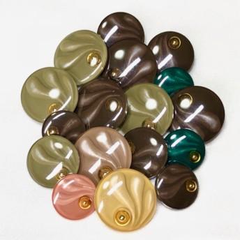ボタン17個セット・高級ボタン・ヴィンテージボタン・まとめ売り