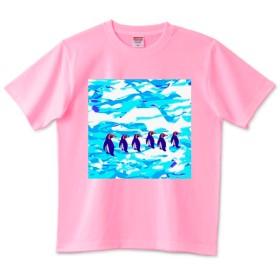 ペンギン 君の 右向け 右‼ Tシャツ