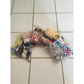 裂き編みコースター5枚