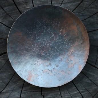銅皿φ9センチ(黒色加工)