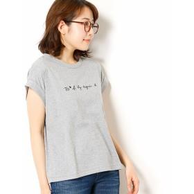[マルイ] W984 TS ロゴTシャツ/トゥービーバイアニエスベー(To b. by agnes b.)