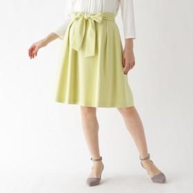[マルイ]【セール】【WEB限定サイズ(LL)あり】リボンフレアスカート/クチュールブローチ(Couture Brooch)