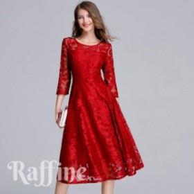 パーティードレス 結婚式 ワンピース ドレス 大きいサイズ 二次会  お呼ばれ 3XL 4XL 5XL 4L 5L 6L T0024018