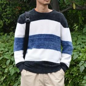 [マルイ]【セール】SU: MOLE TENJIKU ボーダーニット/シップス(メンズ)(SHIPS)