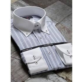 [マルイ]【セール】形態安定80双レギュラーフィットボタンダウン長袖ビジネスドレスシャツ/タカキュー(TAKA-Q)