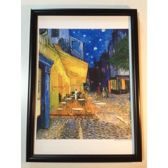 【 絵画 】 ゴッホ「 夜のカフェテラス 1888 」 複製画