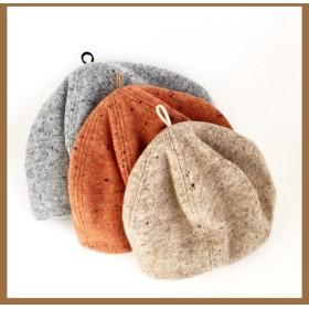 【Baby】カラーネップ ウールニット ベレー帽